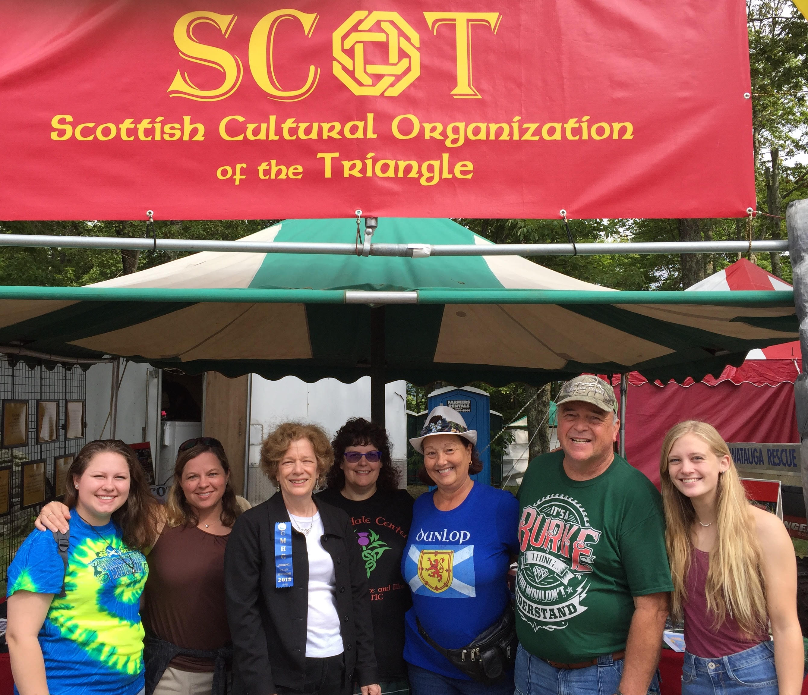 SCOT Booth at 2018 Grandfather Mountain Games