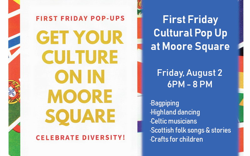 Moore Square Pop-Up Event